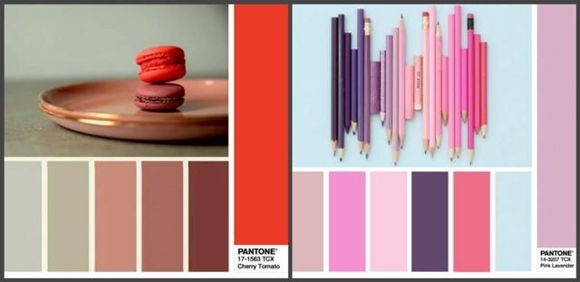 Главные цвета 2018 года по версии Pantone