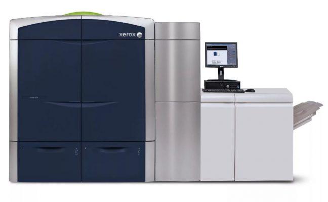 xerox color 800 печать листовок в москве