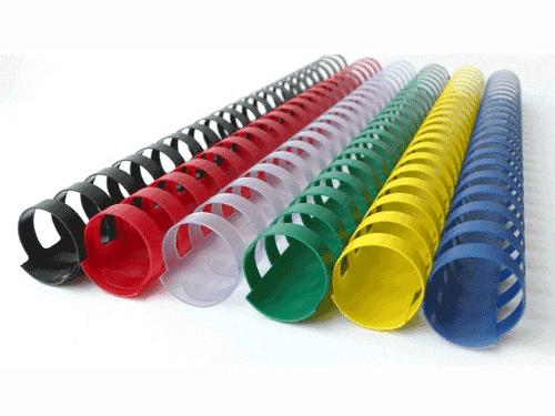 переплет на пластиковую пружину