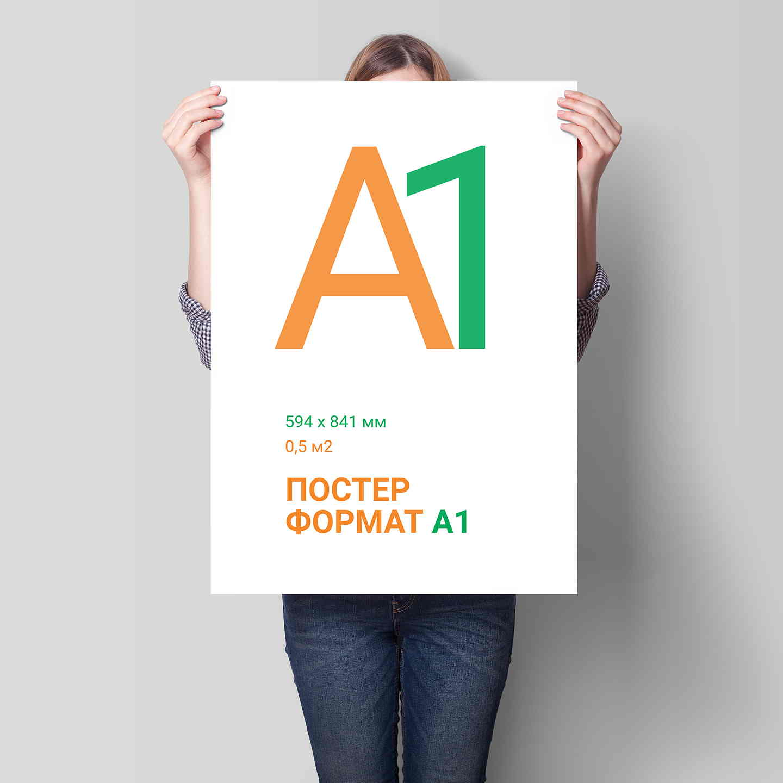 печать плакатов а1 Печать формата а1 в Москве