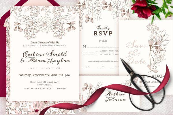 печать открыток на свадьбу