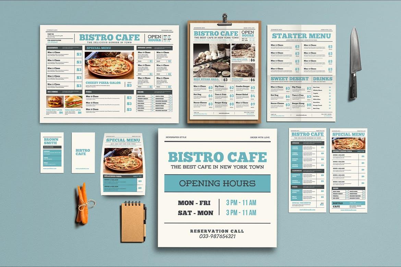 фирменный стиль изготовление меню для кафе и ресторанов