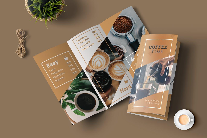печать кофейной карты