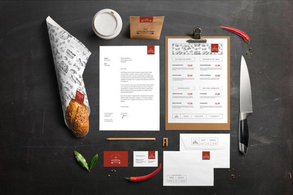 полиграфия для ресторанов