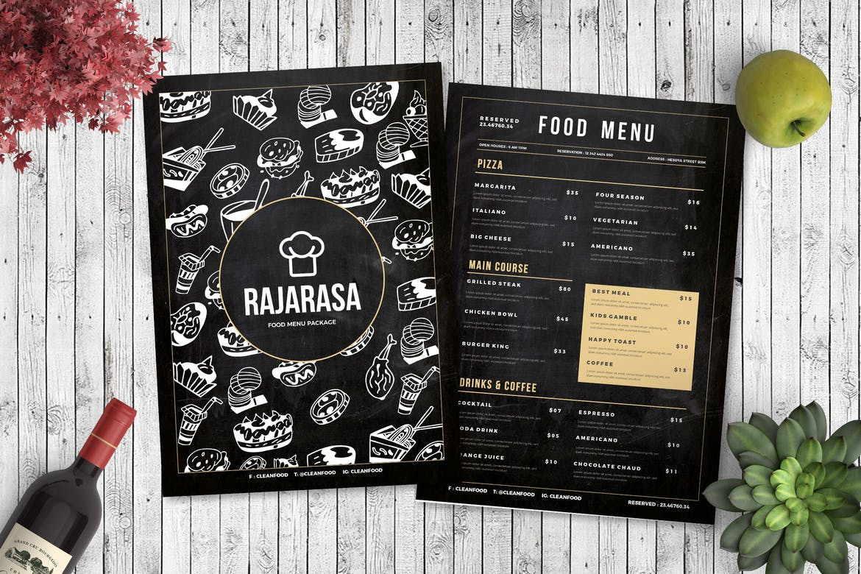 печать кофейной карты изготовление меню для ресторанов