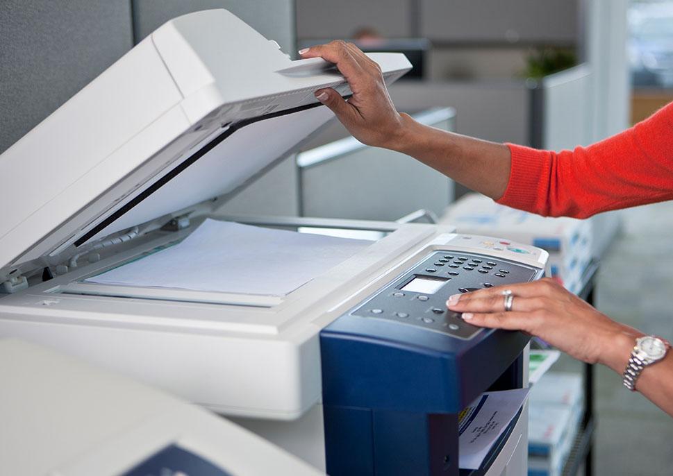 услуги ксерокопирования сканирование документов