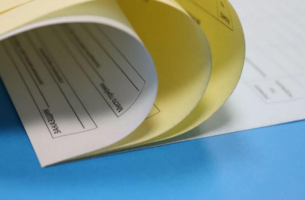 печать бланков печать фирменных бланков