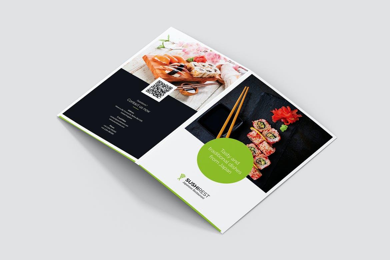 меню суши печать буклетов цены
